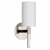 Torino Single Sconce | Polished Nickel