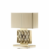 Trapunto Luxury Horn Lamp | Short
