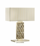Trapunto Luxury Horn Lamp | Tall