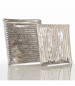Trent Large Square Nickel Tray