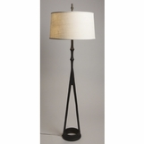 Tribal Bronze Floor Lamp