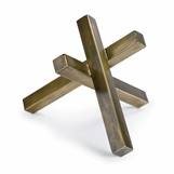 Triblock Sculpture | Brass