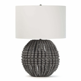 Tropez Wood Bead Lamp