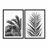 Tulum Palm Prints | Set of 2