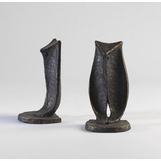 Tundra Iron Owl Bookends