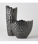 Turing Grid Vases | Charcoal