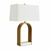 Ulysses Table Lamp | Brass
