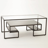 Upton Coffee Table | Bronze
