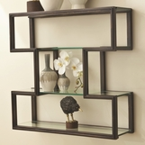 Upton Wall Shelves | Bronze