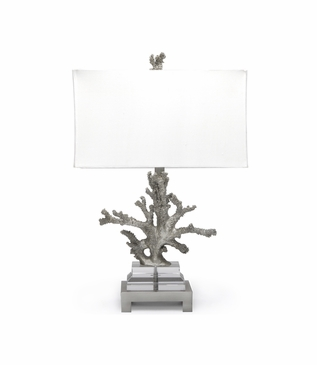 Ursula Table Lamp | Silver