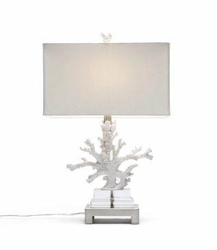 Ursula Table Lamp | White