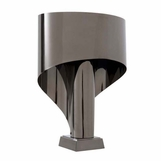 Vader Black Nickel Lamp