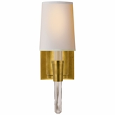 Vance Single Sconce | Brass