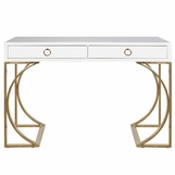 Vanna Lacquer Desk | White