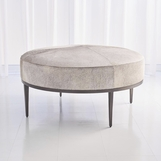 Vaquero Hide Coffee Table | Grey