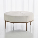 Vaquero Hide Coffee Table | Ivory