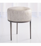 Vaquero Hide Stool | Grey