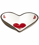 Vegas Brass Trinket Tray | Heart