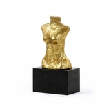 Ventana Bust Sculpture | Gold