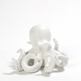 Verne Octopus Object | White