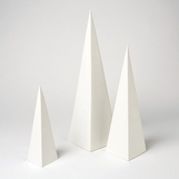 Vertex Sculptures Set | White