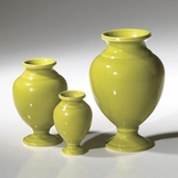 Vesuvius Mini Vases Set | Green