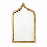 Viggo Iron Mirror | Gold Leaf