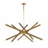 Vipero Chandelier | Brass