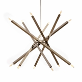 Vipero Chandelier | Nickel