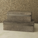 Vittor Boxes | Grey Hide