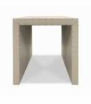 Wade Waterfall Side Table, Short