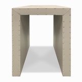 Wade Waterfall Side Table, Tall