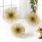 Wallflowers Objects Set | Gold