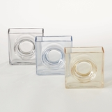 Watson Square Glass Vases