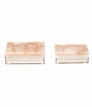 Watts Boxes Set | Pink Quartz