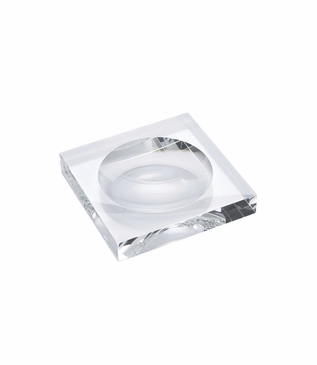 Waugh Trinket Tray | Crystal