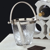 Waverly Glass Ice Bucket