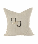 Wavery Square Pillows | Natural