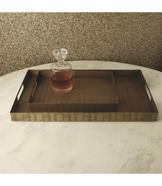 Webster Brass Trays | Rectangular