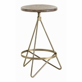 Whitworth Counter Stool | Brass