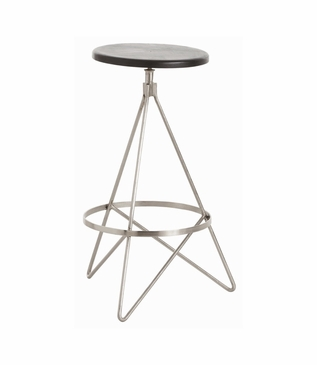 Whitworth Counter Stool | Nickel