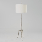Wichita Floor Lamp | Nickel