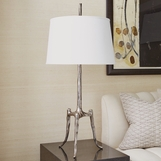 Wichita Table Lamp | Nickel