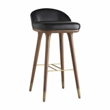 Willard Leather Bar Stool | Bar Height