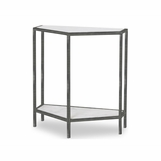 Willis Marble Console Table | Iron