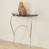 Wispy Console Table | Nickel