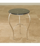 Wispy Side Table | Nickel