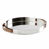 Wyatt Stainless Steel Tray | Round