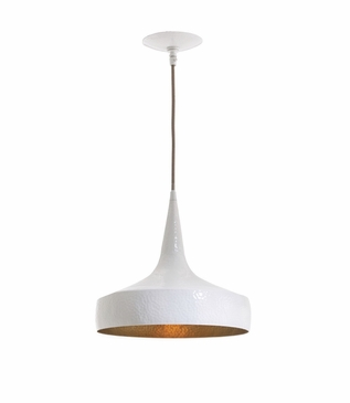 Wyler White Pendant | Wide