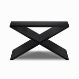 "Xander ""X"" Console Table, Stained"
